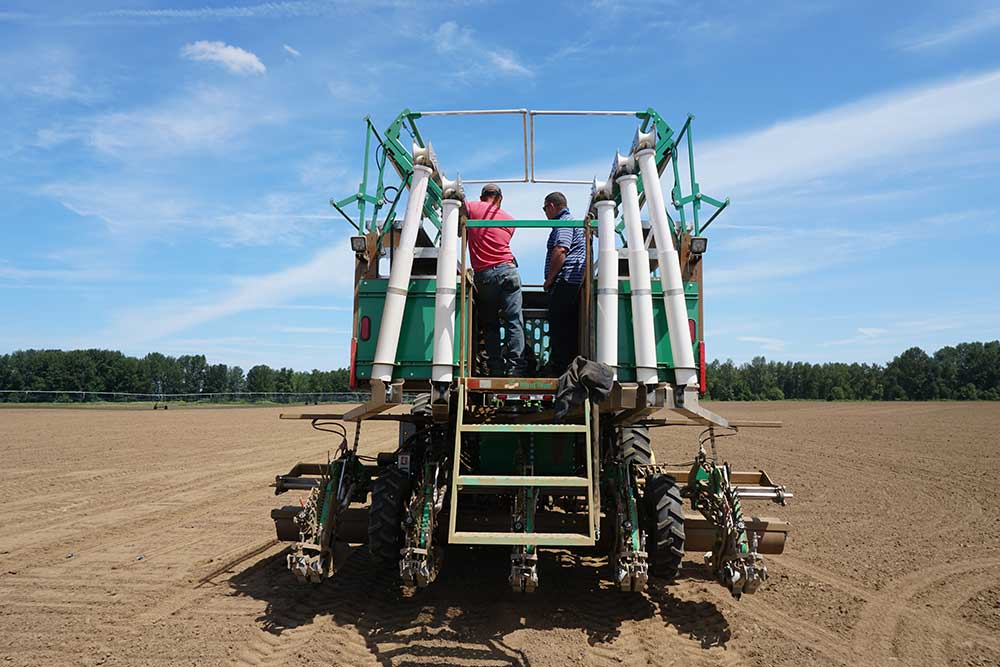 Farm Equipment for hemp farming